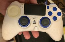SCUF Gaming Impact Controller For PlayStation 4 PS4 White - used*