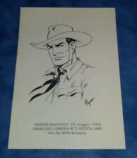 Tex Serata Magnus 1996 Stampa omaggio Rcs Bologna
