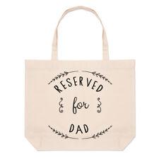 Reserved per papà grande borsa con manico da Spiaggia - FESTA DEL DIVERTENTE