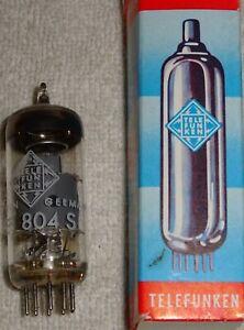 Röhre: Telefunken EF 804s, in Original-Schachtel, 50er, anschauen, (10), 1,--