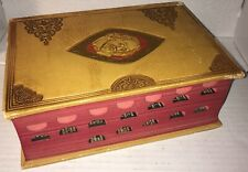 Very Old 1930s? THE COMPLETE WORKS OF SHAKESPEARE TEMPLE NOTES LEATHER BOUND VG+