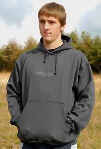 Wulfsport Adult Casual Grey Hoody Size XS- XXXL motocross motorbike leisure