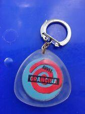 🌻 Ancien Porte-clés publicitaire 🌻 key ring 🌻 ORANGINA  🌻 SPORT - ESCRIME