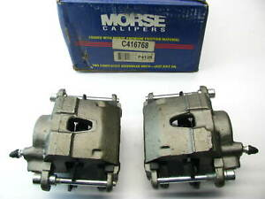 REMAN Morse P4128 Front Disc Brake Caliper Set W/ Pads