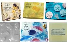 House Of Crafts Scented Soap Making Craft Kits Handmade Organic Bath Bombe