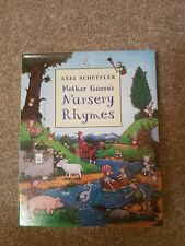 CHILDRENS .NURSERY RHYMES SET OF 3 BY AXEL SCHEFFLER IN EXCELLENT CONDITION