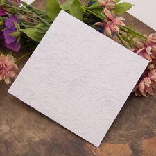 peony flower Embossing folders Plastic Embossing Folder For Scrapbooking HC