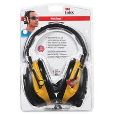 Tekk Protection Worktunes Earmuf - Stereo - Yellow, Black - Wired - 22 Db Snr -