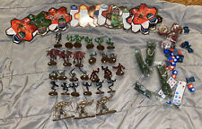 HEROSCAPE Lot 28 Figures, Dice, Cards And More Hasbro 2005