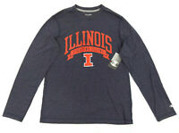 Champion Illinois Fighting ILLINI Men's Long Sleeve Shirt Size Medium