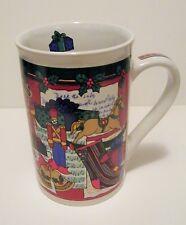 Christmas Holiday Toy Soldier Teddy Bear Music Coffee Mug In Box Ceramic Cup