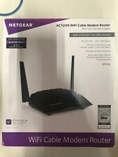 Netgear Cable Modem Dual - Band AC1200 (8x4) WiFi DOCSIS 3.0 Router Combo