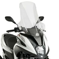 YAMAHA TRICITY 2015 > PUIG SCREEN CLEAR V-TECH TOURING WINDSCREEN