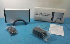 MEDIA MAGIC 3.5 USB 2.0 PORTABLE SATA HARD DISK ENCLOSURE ALUMINIO CUBIERTA