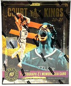 2020-21 Panini Court Kings Basketball Hobby Box Factory Sealed NEW #4
