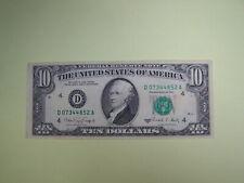 ETATS UNIS - USA - BILLET 10 DOLLARS - 1988 A - CLEVELAND OHIO