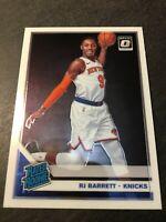 2019 Donruss Optic RJ Barrett Rookie RC #178 Knicks Superstar PSA Ready
