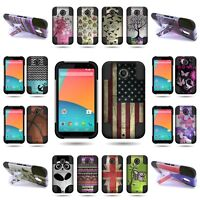 Heavy Duty Hybrid Cover Phone Armor Impact Case for Motorola Google Nexus 6