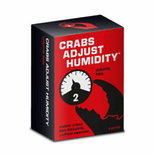 Crabs Adjust Humidity Volume 2 Card Game Brand New Genuine Licensed Stock X SALE
