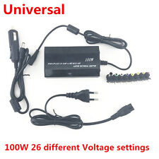 120W Universal 8 Tips Car Home Charger Power Supply Adapter for Laptop Notebook