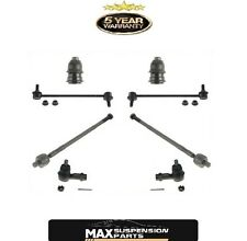 Front Tie Rods Sway Bar Links Ball Joints for Hyundai Santa Fe 01-2006 8Pc KIT