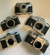 vintage camera lot pentax, miranda, konica, yashica, Arettea, nice antiques