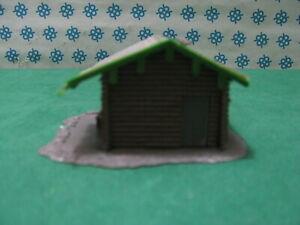 Vintage H0 - Cottage Wood With Rustic Tool Bag - FALLER 139/1 - 44/45