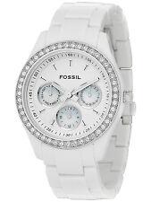 Fossil ES1967 Women's Stella White Resin Watch