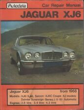 JAGUAR XJ6 / DAIMLER SOVEREIGN 2.8 3.4 4.2 SALOON COUPE 1968-1981 REPAIR MANUAL