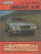 JAGUAR XJ6 / DAIMLER SOVEREIGN 2.8 3.4 4.2 SALOON COUPE 1968-1981 REPAIR MANUAL