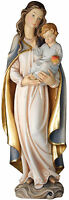 """Madonna Con Niño E Apple cm.90 - Our Lady With Child And Apple 35,43"""" Statue"""