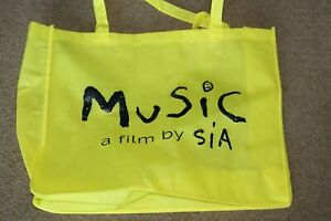 MUSIC SIA THE MOVIE OFFICIAL PROMO PRESS KIT TOTE BAG  PROMOTIONAL