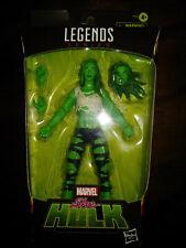 "SHE-HULK Hasbro Marvel Legends Series 6"" Action Figure Jennifer Walters MIB"