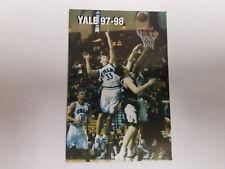 Yale University Bulldogs 1997/98 Men's Basketball Pocket Schedule - Starter