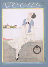 Vogue Magazine July 1 1925 Original front cover page only Artist Lepape