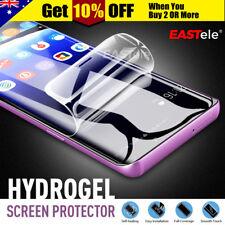 EASTele Samsung Galaxy S9 S8 Plus HYDROGEL AQUA FLEXIBLE Full Screen Protector