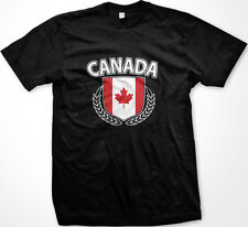 Canada Shield Crest Coat Of Arms Country Canadian Born From CA CAN Men's T-Shirt