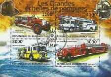 Timbres Pompiers Burundi 1830/3 o année 2012 lot 20703 - cote : 19 €