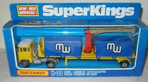 MATCHBOX SUPERKINGS K-33 CARGO HAULER 'MW' MIB