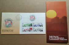 Singapore 1985 Public Housing Mini-sheet Stamps FDC (Lot A) 新加坡小全张邮票首日封 --- 公共居所