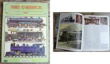 Trains d'autrefois n°2, Berengaria éditions, 1979,64 p, couverture dos à refixer
