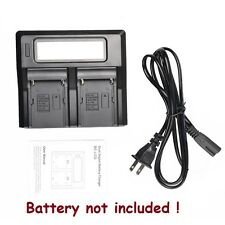 Digital LCD Quick Charger for Sony NP-F550 NP-F570 NP-F770 NP-F970 NP960 Battery