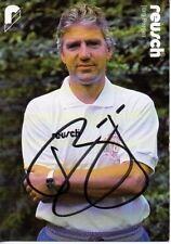 Autogramm - Jörg Berger