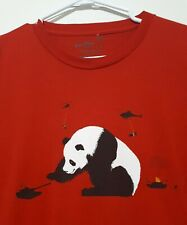 Pandamonium Threadless NUDE NO MORE t Shirt Size X-Large Made in USA