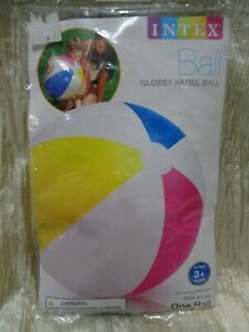 "Intex - 24"" Beach Ball - Swimming Pool Toy - Glossy Panel (BIN 20)"