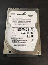 """Seagate Momentus 750GB 7200 RPM 2.5"""" SATA Internal Hard Drive ST9750420AS"""