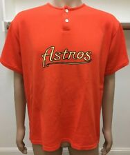 Vintage Astros Orange Jersey Shirt Teamwork Athletic Apparel Usa Made Xl