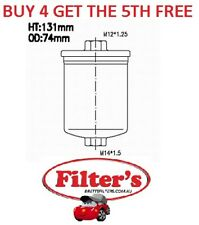 FUEL FILTER FOR AUDI A6 C5 4.2L ABZ V8 40V QUATTRO DOHC PETROL 03/ 2000 - 2002