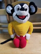 vintage mickey mouse carnival plush