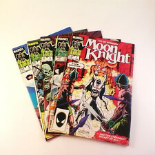 Moon Knight (1985) Near Comp. Set of 5 (#1-5) FN/FNVF Sienkiewicz, New Costume